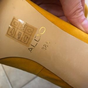 Aldo Shoes - Aldo Yellow Heels